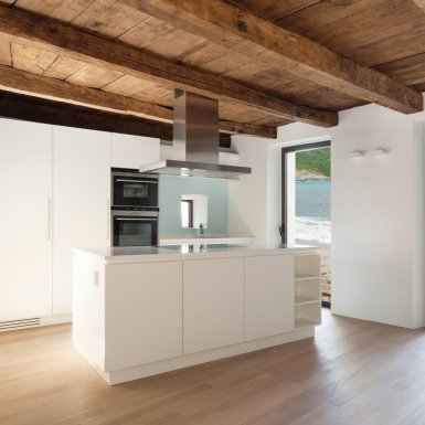 Parquet flooring, doors and kitchens
